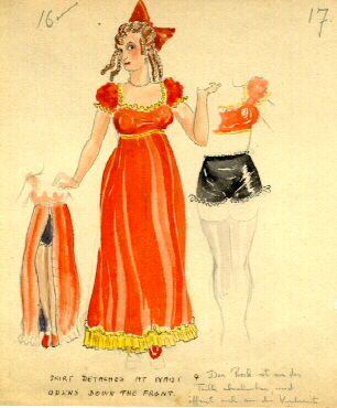 "Costume design for ""A Comedy of Errors"""