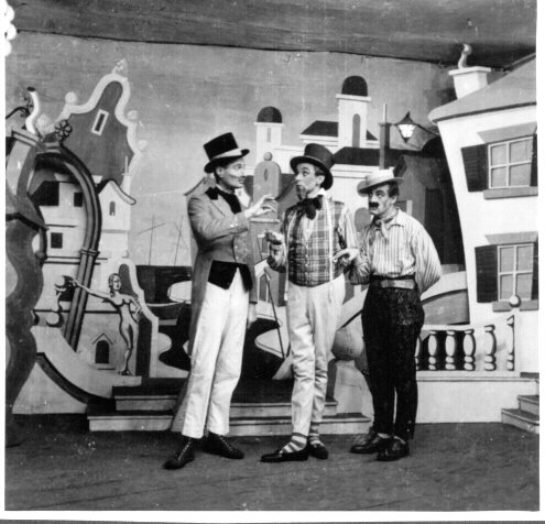 """A Comedy of  Errors"": Eichstätt production"